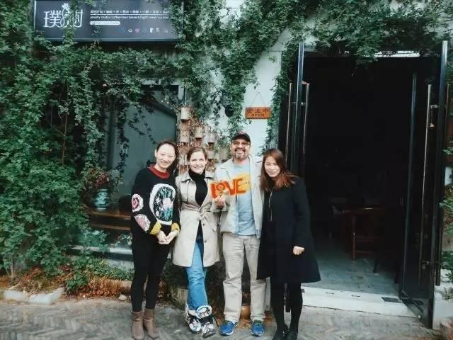 The gang at Pushu in Changzhou's Canal 5.